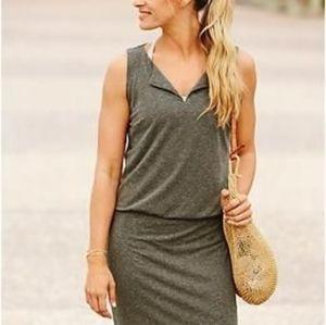 Athleta Green Grey Vida Dress Size Small NWT